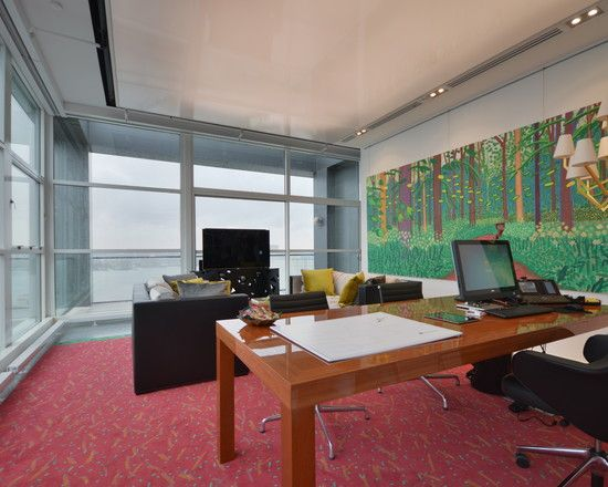 beautiful nyc executive office decor ideas with red carpet