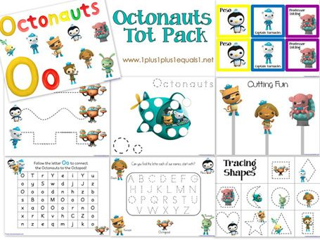 Awesome Printables for Octonauts ~ #Homeschool {Tater Tots}