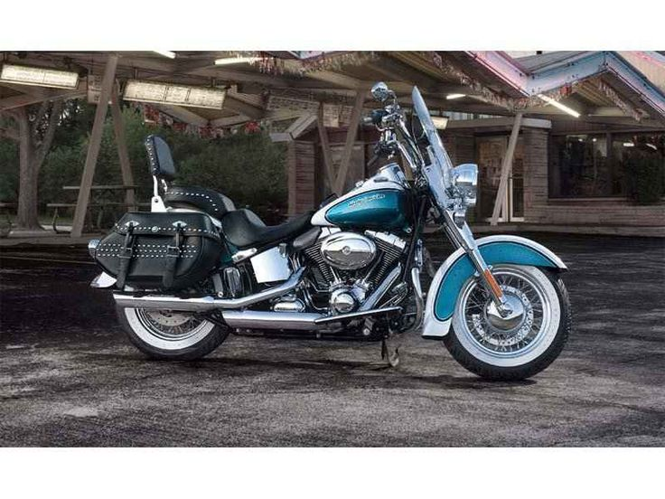 Used 2013 Harley-Davidson Heritage Softail® Classic Motorcycles For Sale in Florida,FL. Blazing from the past with original dresser spirit and modern touring capabilities. The 2013 Harley-Davidson® Heritage Softail® Classic motorcycle FLSTC is fully equipped with modern touring capabilities and even has a removable motorcycle windshield. For 2013, the FLSTC Heritage Softail Classic comes in a limited, serialized 110th Anniversary Special Edition, featuring exclusive commemorative…
