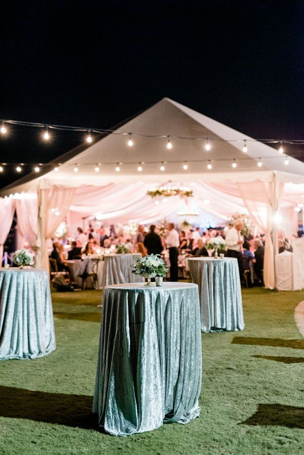 Cocktail hour wedding. Tented wedding ideas. Outdoor wedding. Cavalier Golf and Yacht Club Wedding. Smo… | Cocktail hour wedding, Tent wedding, Outdoor tent wedding