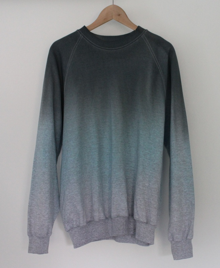 Ice Dip Dye Sweater