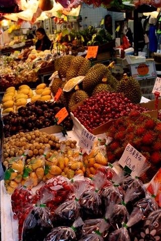 MERCADOS DEL MUNDO | MERCADO DE FRUTAS EN HONG KONG (Hong Kong fruit market).