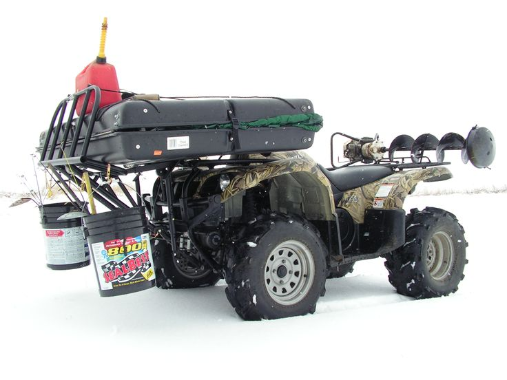 18 best atv seat trailer images on pinterest trailers for Atv ice fishing accessories