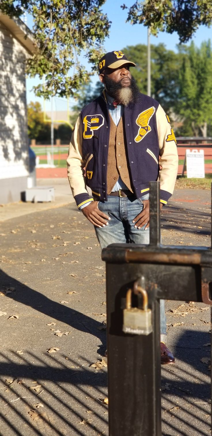 The RL Iconic Collection: The Letterman Jacket.
