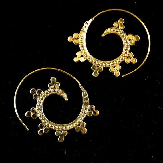 Indian handmade tribal boho ethnic earrings by DhanaJewellery