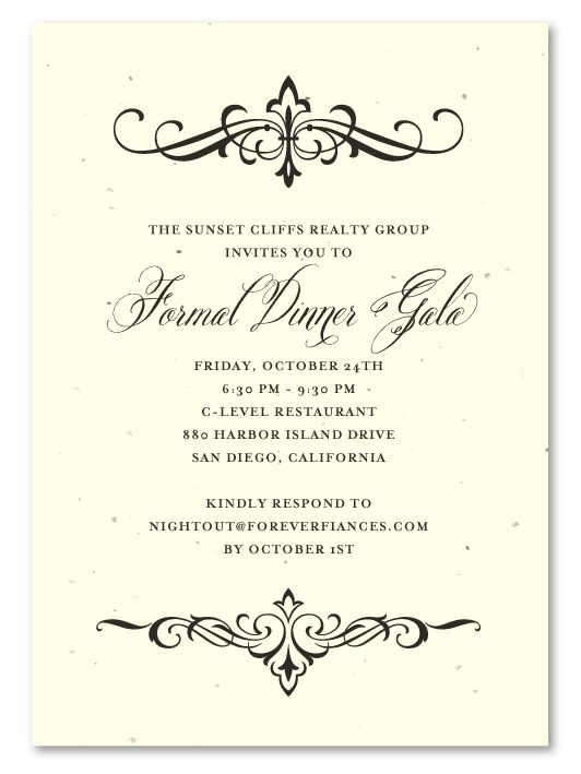 7 best Centennial Invitation Templates images on Pinterest - dinner invitations templates
