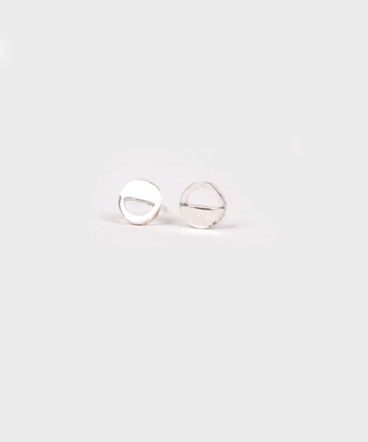 Bryanna Studs  |  Silver Plated