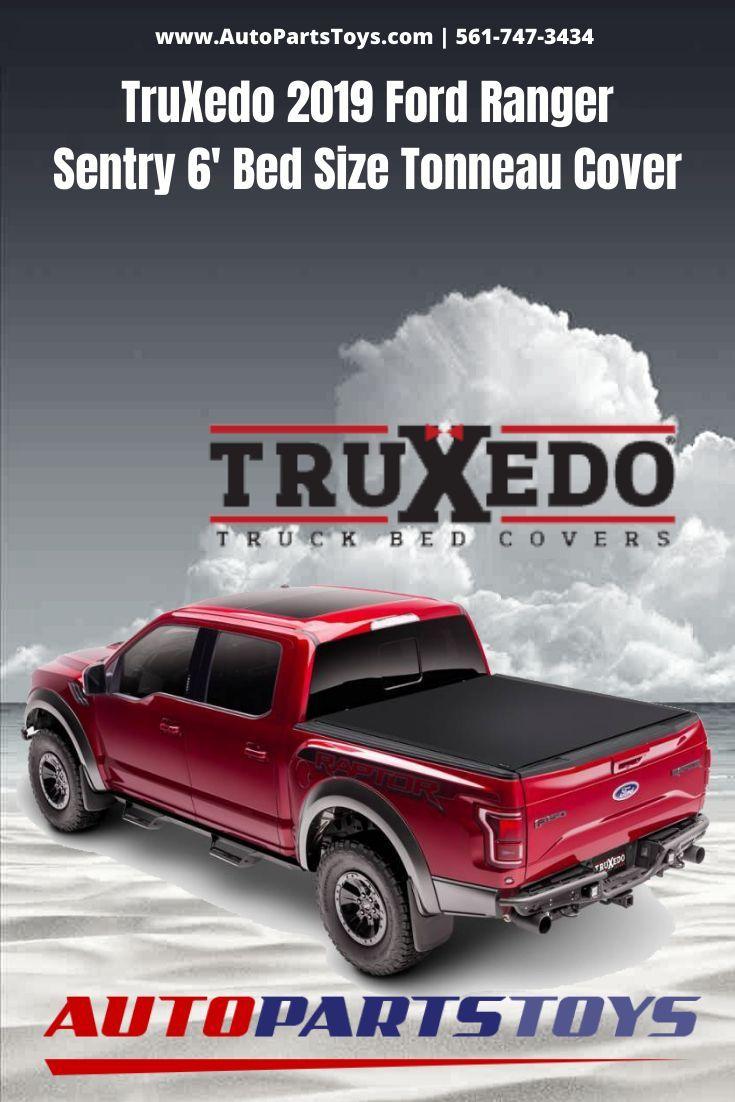 TruXedo 2019 Ford Ranger Sentry 6' Bed Size Tonneau Cover