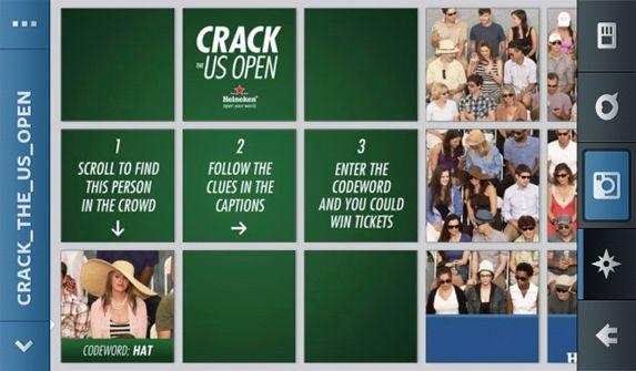 Heineken Crack the US Open