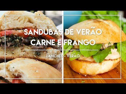 Receitas de Sandubas - Carne e Frango   - Receitinhas de Verão #4