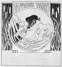 A modern Tantalus. Illustration for 'Meggendorfer leaves'. - Коломан Мозер