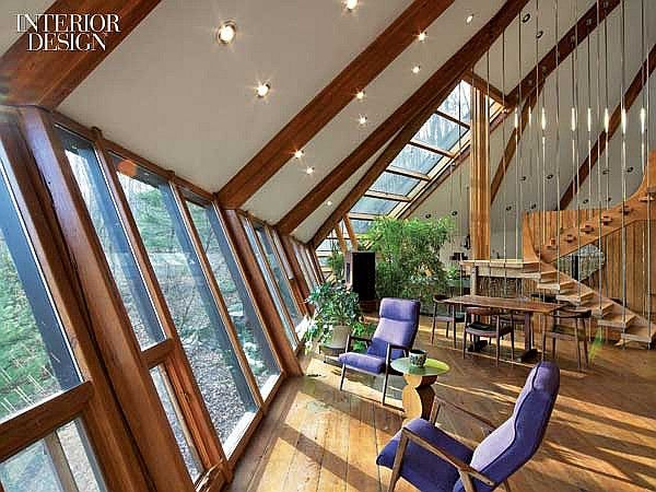 A Force Of Nature Nancy Copleys Iconic Upstate New York Residence Interior Design