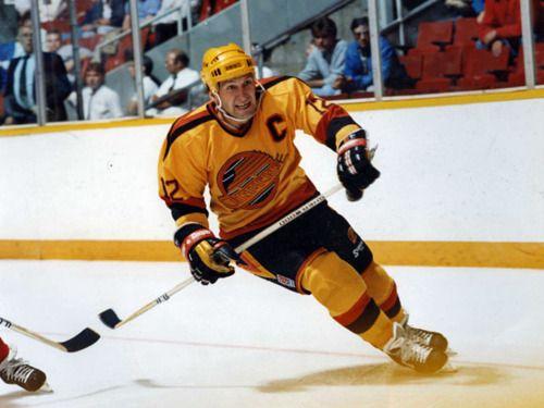 Stan Smyl of the Vancouver Canucks (1978-91).