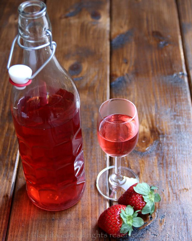 Como preparar tequila de fresa o frutilla – Recetas en Español
