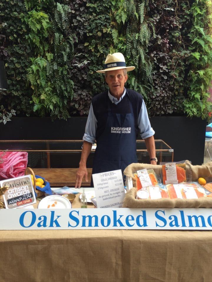 Neil Barnett of Oak Smoked Salmon | Market Day