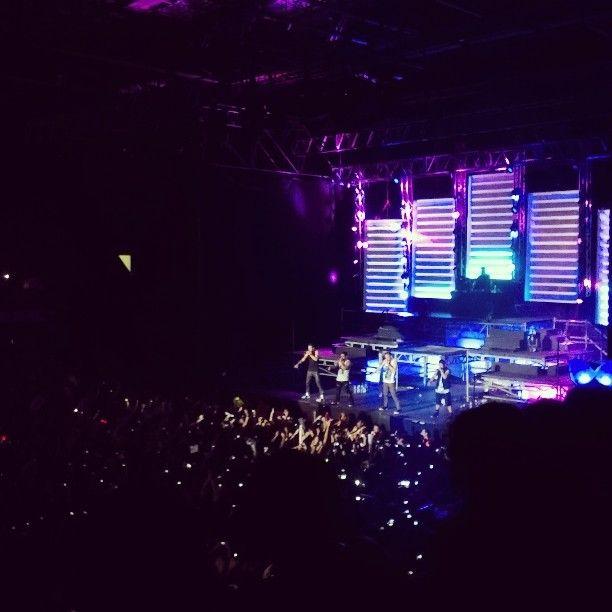 Big Time Rush en el Estadio Malvinas Argentinas, Paternal, Buenos Aires. 2013