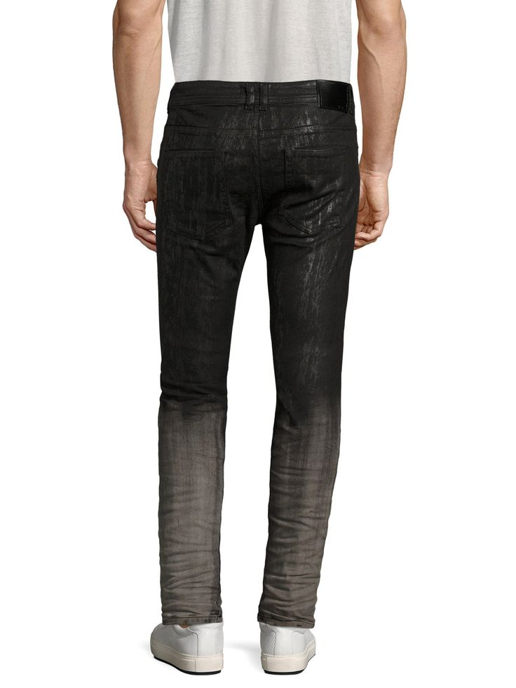 Type-2512 Skinny Jeans by Diesel Black Gold at Gilt