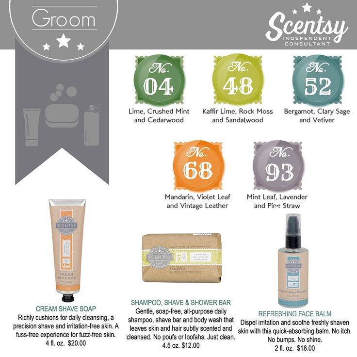 Scentsy groom products contact me to order yours for for Fall soap scents