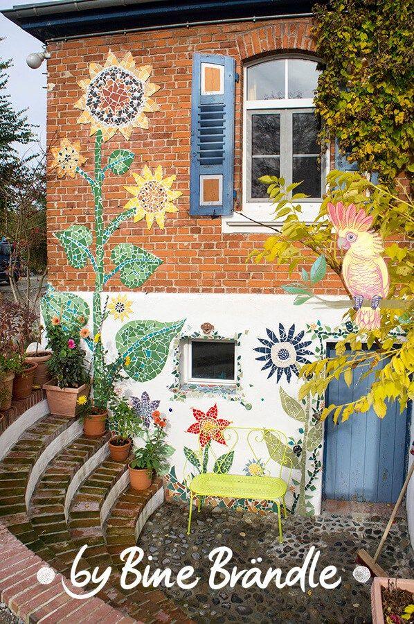 die besten 25 mosaik ideen auf pinterest mosaik mosaikprojekte und mosaikkunst. Black Bedroom Furniture Sets. Home Design Ideas