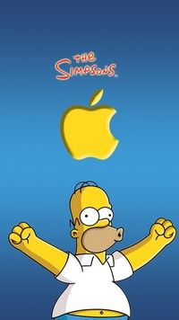 Iphone X Logo Wallpaper Iphone 6s Wallpapers Apple Simpsons Apple Love