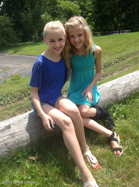 BFFs Chloe Lukasiak and Paige Hyland from Dance Moms