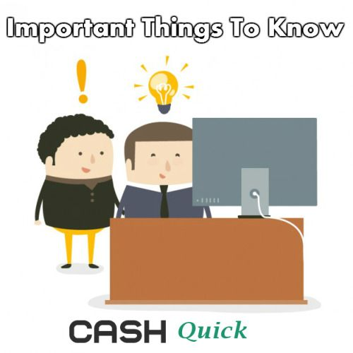 Important Things To Be Aware About Small Cash Loans To Make A Better Understanding!