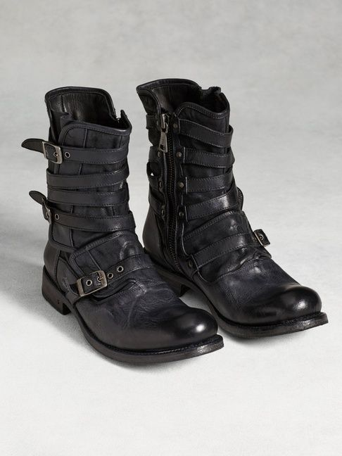 Engineer Triple Buckle Boot - John Varvatos