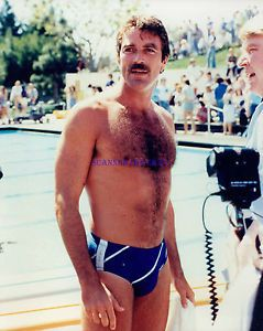 cbe25258ae TOM-SELLECK-HUNKY-1980S-BATHING-SUIT-PHOTO | ET's Favs | Tom selleck ...