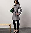 V8884 | Misses' Coat and Belt | Vogue Patterns