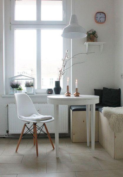 die besten 25 kleine essecke ideen auf pinterest einfache heimwerkerprojekte basteln. Black Bedroom Furniture Sets. Home Design Ideas