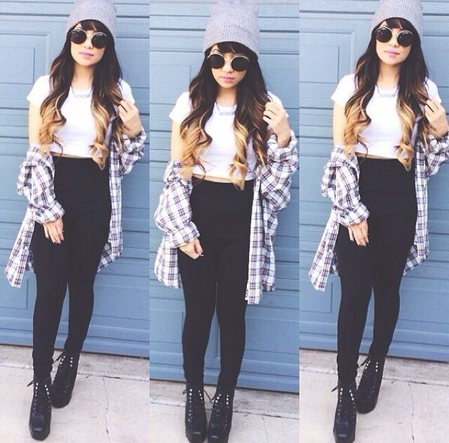 110 best images about Flannels on Pinterest | Teen fashion, Beanie ...