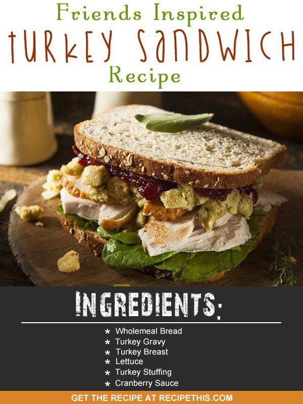Welcome to my Friends inspired Thanksgiving Turkey Sandwich recipe.