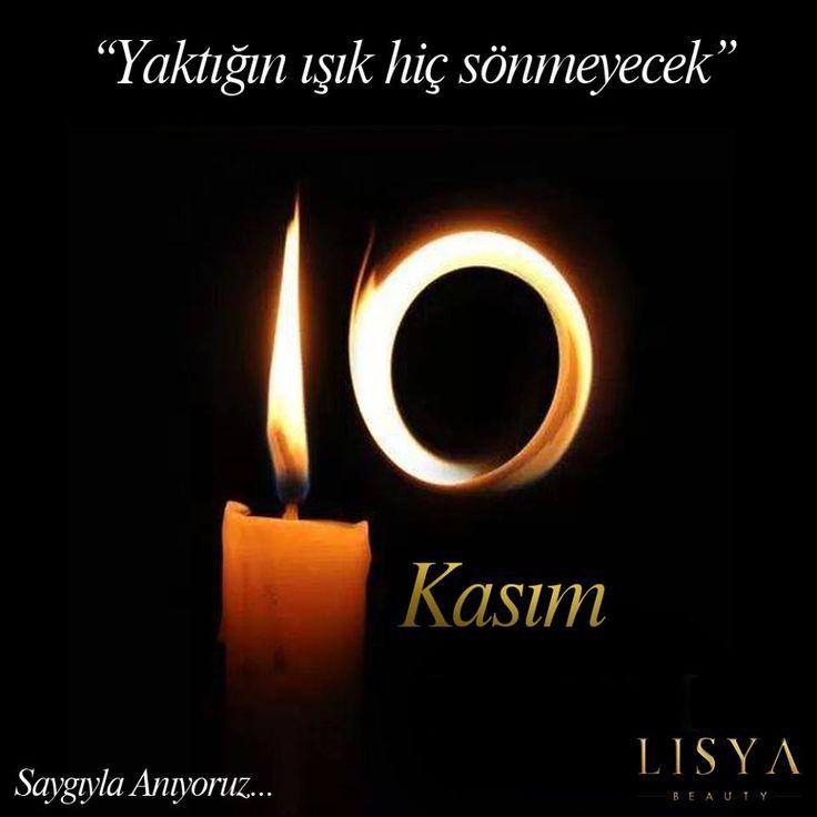 Ulu önderimiz Mustafa Kemal Atatürk'ü saygı ve özlemle anıyoruz! #10Kasım #SaygıylaAnıyoruz #MustafaKemalAtatürk #Atatürk #Atam