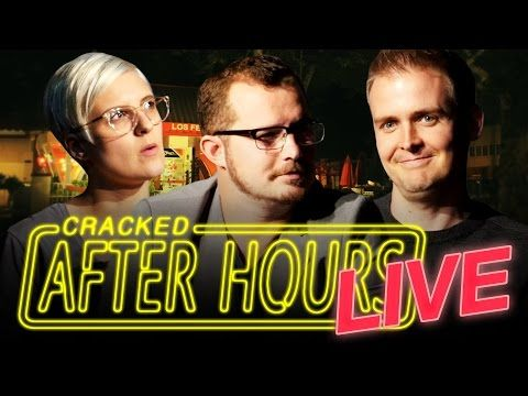 7 Movie Ideas Too Awesome To Actually Get Made - After Hours LIVE/The Cracked Podcast - YouTube
