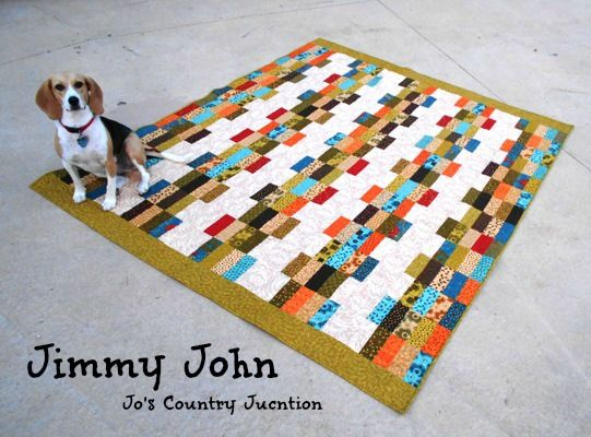 Free Printable Quilt Pattern Jimmy John Made From One
