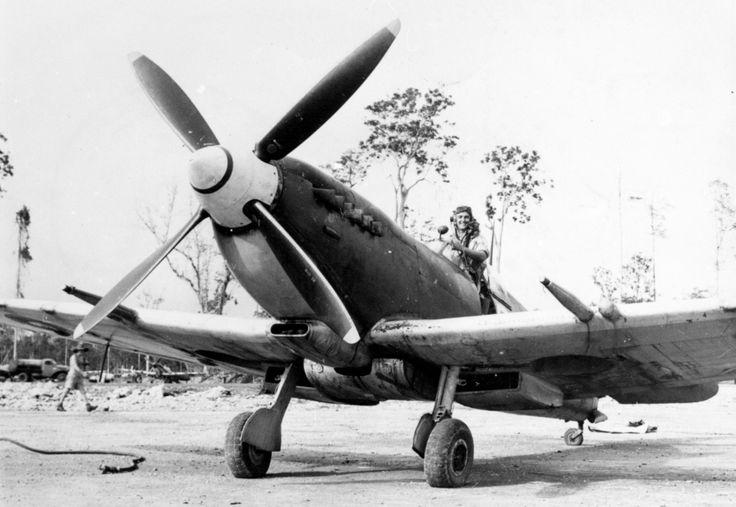 RAAF Spitfire Mk. 8, Burma.