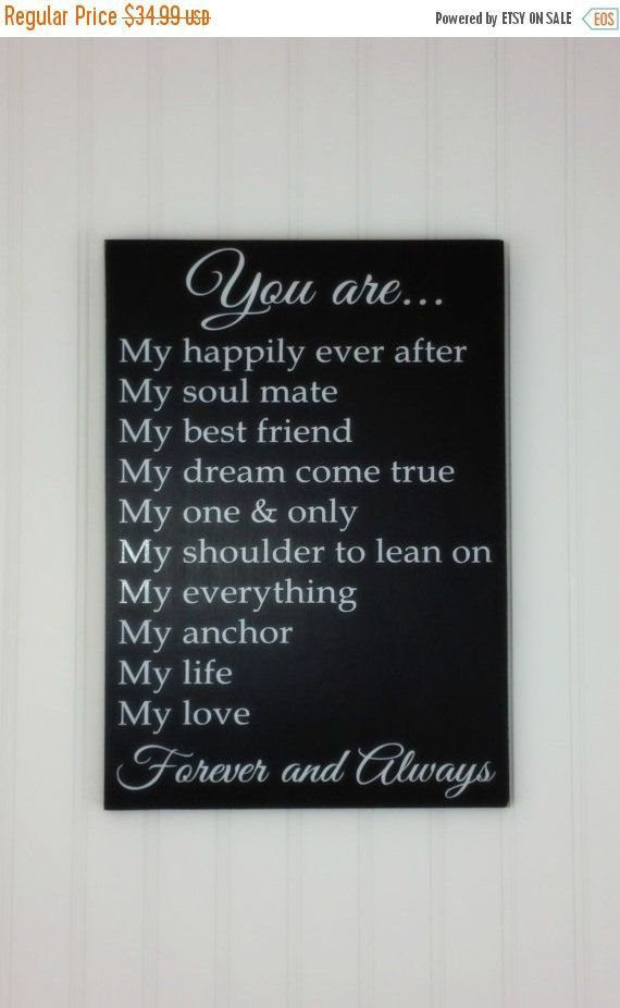 Valentine S Day Gift Idea For Him Or Her You Are My Rustic Wood