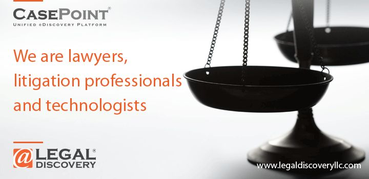 We are lawyers, litigation professionals and technologists  http://www.legaldiscoveryllc.com/
