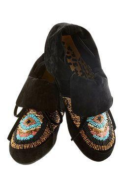 Wanders Never Cease Bootie, #ModCloth: Vintage Boots, Ceas Flats, Shoes Boots, Cea Flats, Cea Bootie, Ceas Bootie, Mod Retro, Retro Vintage, Modcloth Com