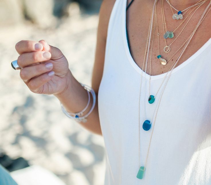 Kriket Broadhurst sea glass jewellery