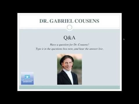 Watch Dr. Cousens's How to Cure Diabetes Naturally Webinar
