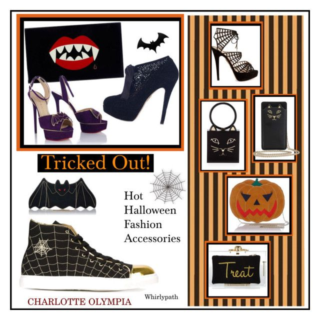 Tricked Out! by whirlypath on Polyvore featuring Charlotte Olympia