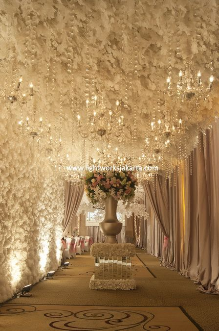 Yusdy & Viona's Wedding Day; Venue at Ritz Carlton Pacific Place; Decoration by Lotus Decoration; Lightning by Lightworks