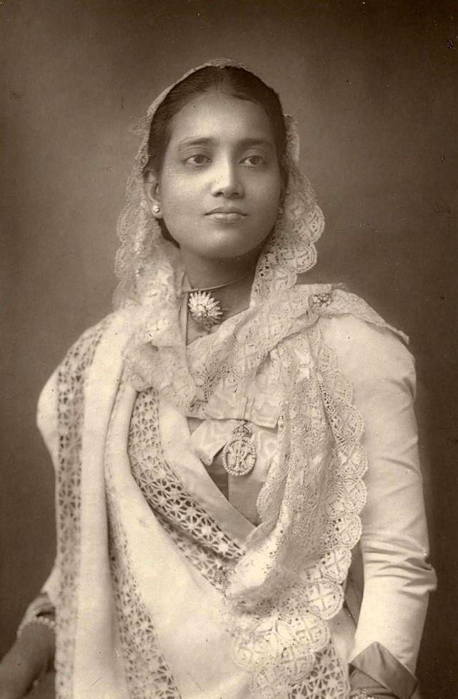 The Maharani of Kuch Behar. Sunity Devi - 1887