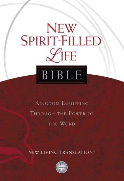 NLT2 New Spirit-Filled Life Bible-Hardcover