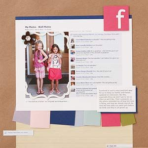 Capture Facebook Comments~ AWESOME IdeaScrapbook Ideas, Facebook Scrapbook, Heather Melzer, Scrapbook Layout, Page Design, Scrapbook Pages, Capture Facebook, Facebook Layout, Crafts