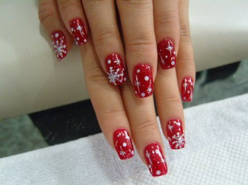 30 Inspiring Red Nail Art Designs for Wedding 2015/16