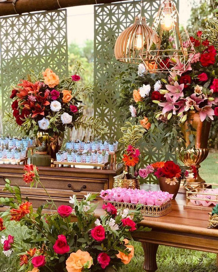 Decoração de casamento rústico: 70 fotos e idéias apaixonadas   – Casamento rústico