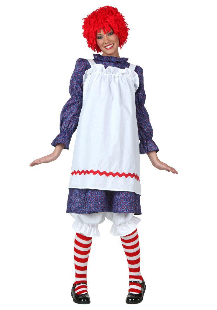 adult rag doll costume - Classic Womens Halloween Costumes