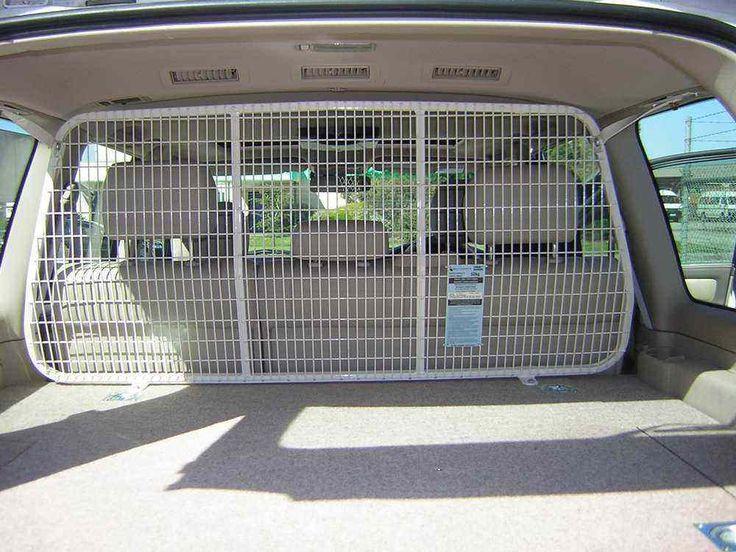 Diy Car Barrier Dog Dog Gate Cargo Barrier Amp Top Tether
